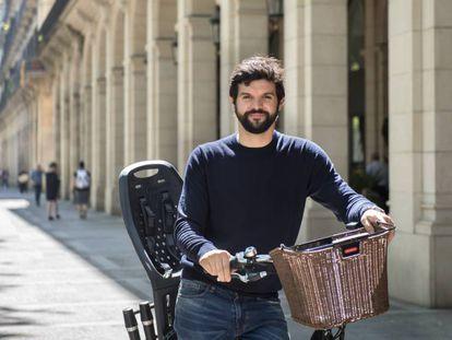 Gerard Esteva, impulsor y miembro del consejo directivo de la asociación Barcelona Futur.