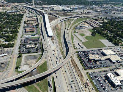 Ampliación de la autopista North Tarrant Express, en Dallas (Texas, EE UU), realizada por Ferrovial