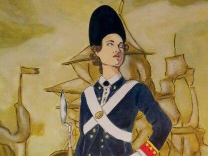 Recreación del aspecto de Ana María de Soto que se expone en el Museo Naval de Cádiz.