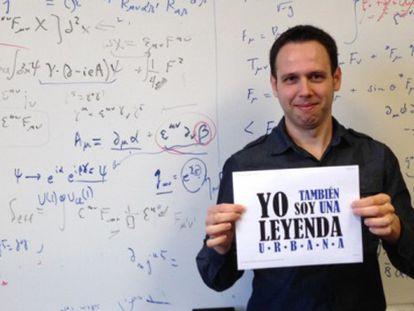 El físico Iván Agulló, en la Universidad Estatal de Luisiana (EE UU)