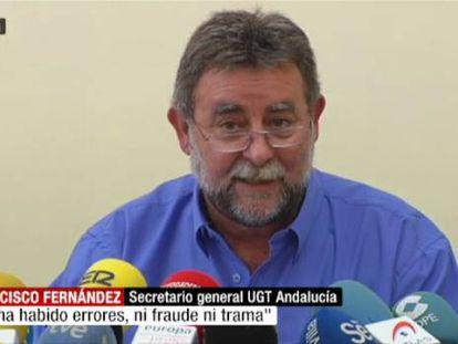 La presión interna por las facturas acaba con el líder andaluz de UGT