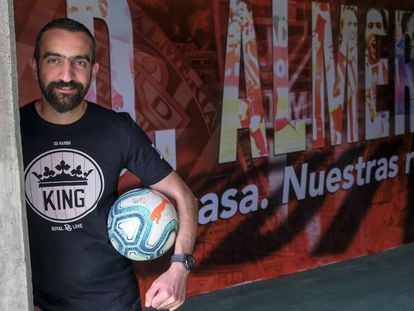 Mohamed el-Assy, director general del Almería.