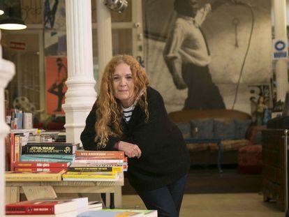 María Sylverio, dueña de la librería Ocho y Medio.