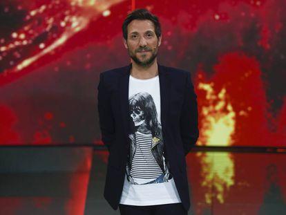 Antonio David Flores  en una de su últimas apariciones televisivas en abril de 2017.