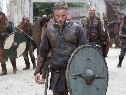 Escena de la serie 'Vikingos'.
