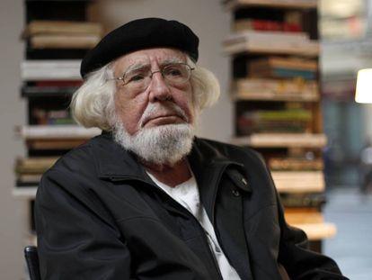 Ernesto Cardenal, en Madrid en 2009.