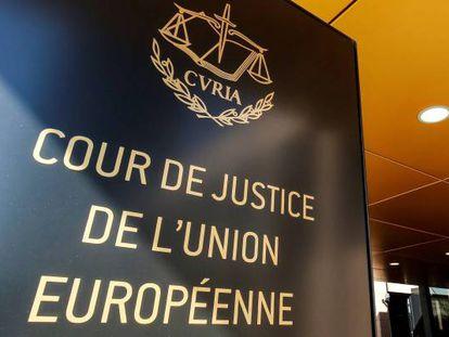 Sede del Tribunal de Justicia de la Unión Europea (TJUE), en Luxemburgo.