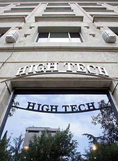 Uno de los establecimientos de la cadena High Tech.