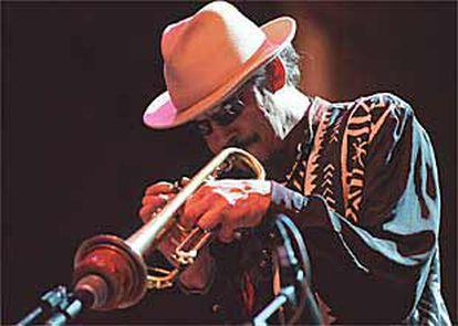 Jerry González durante su concierto en San Sebastián.