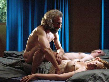 Jan Bijvoet, su protagonista, provocando pesadillas a la pareja que le hospeda.