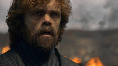 El personaje de Tyrion Lannister en la temporada final de 'Juego de tronos'.