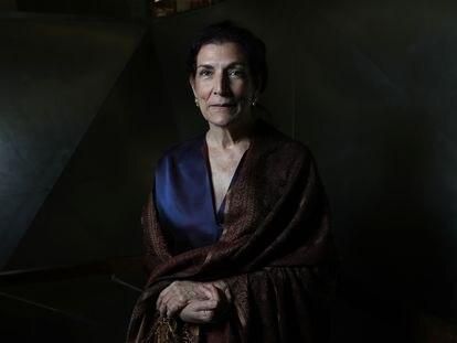 La periodista Alma Guillermoprieto en 2017, cuando recogió el Premio Ortega y Gasset a la Trayectoria profesional.