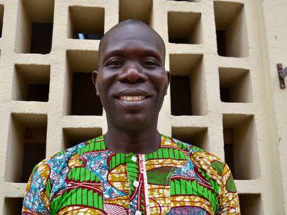 Cosme Segla Assou, profesor de español y guía turístico de Benín.