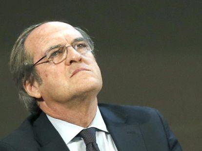 Ángel Gabilondo, el pasado 26 de enero en Barcelona.