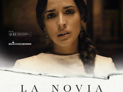 Cartel de 'La novia', dirigida por Paula Ortiz, cuenta con 12 nominaciones.