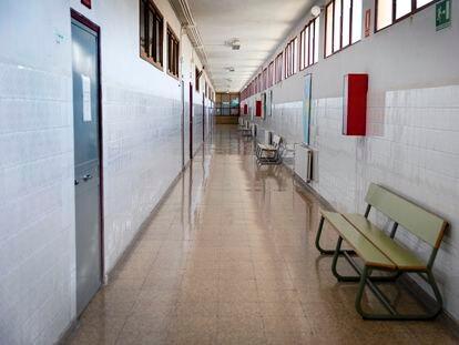 Un instituto público de Valencia.