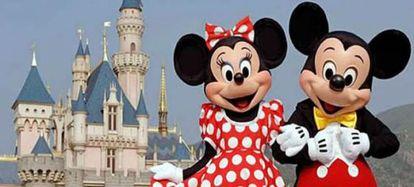 Foto promocional del 20 aniversario de Disneyland París.