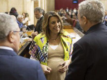 La líder del PSOE andaluz reniega ahora de la decisión de la abstención socialista en 2016