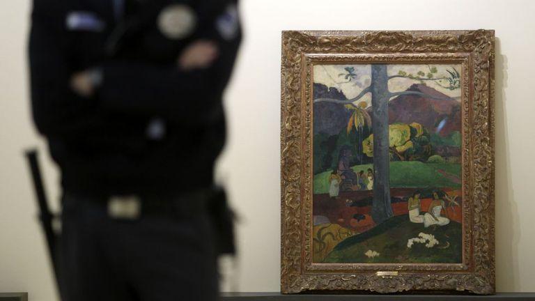 'Mata mua' ('Érase una vez'), obra de Paul Gauguin (1848-1903), que no puede verse en el museo Thyssen desde junio.