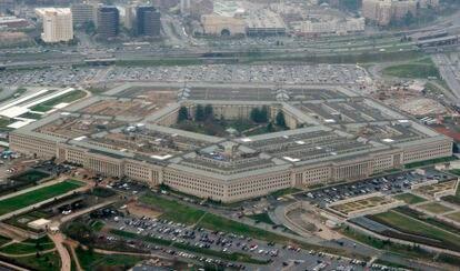 Fotografía de archivo de una vista aérea del Pentágono.