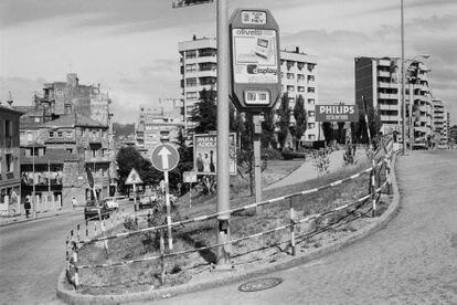 'Sin título' (1986), fotografía para el proyecto 'Vigovisións'.