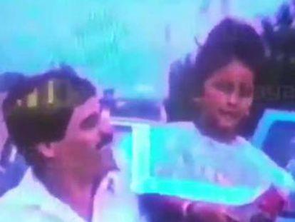 La ahijada de el Chapo hace público un video familiar en el que aparece el capo
