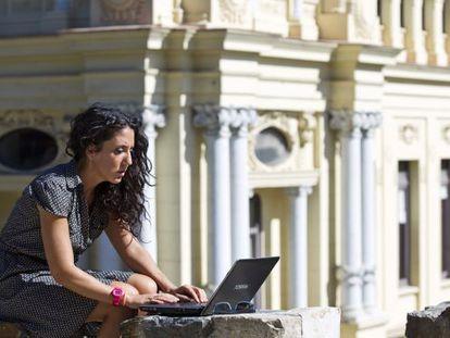 Los centros del ayuntamiento de Málaga seguían ayer ofreciendo wifi abierto y gratuito.