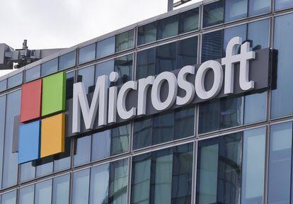 Imagen de la sede Microsoft en París.
