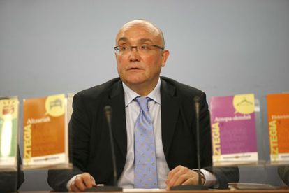 Patxi Baztarrika, viceconsejero vasco de Política Lingüística.