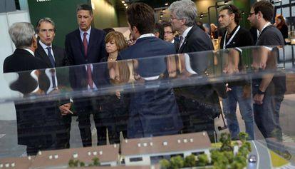 El ministro de Fomento, en la inauguración del Barcelona Meeting Point.