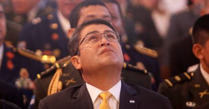 El presidente Juan Orlando