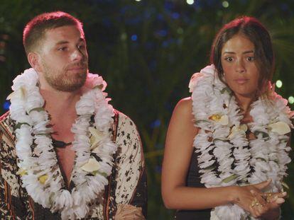 Tom Bruce y Melyssa Pinto, dos de los participantes en 'La isla de las tentaciones 2'.