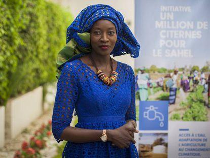 Coumba Sow, coordinadora de la oficina de la FAO para la resiliencia en África del Oeste y el Sahel, en Dakar, Senegal.
