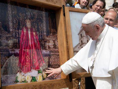 El papa Francisco en una audiencia de este miércoles.