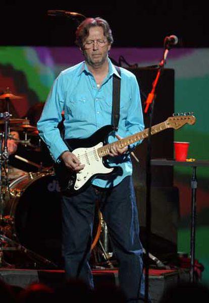Eric Clapton, en la actuación del pasado mayo en el Royal Albert Hall.