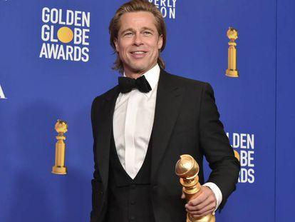 Brad Pitt, en la pasada edición de los Globos de Oro 2020.