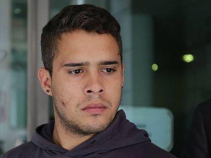 José Fernando Ortega, en los juzgados de Madrid el pasado 24 de abril.