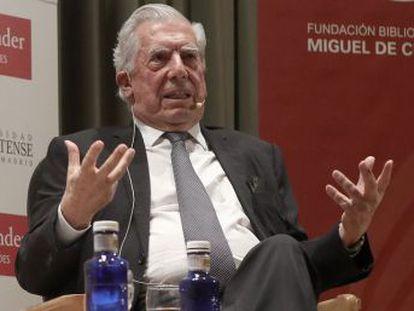 El Nobel peruano conversa en la Complutense sobre los años felices con su amigo Ambos truncaron su relación en 1976 tras un enfrentamiento