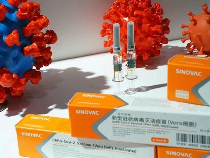 Una de las vacunas contra la covid-19 que desarrolla China.