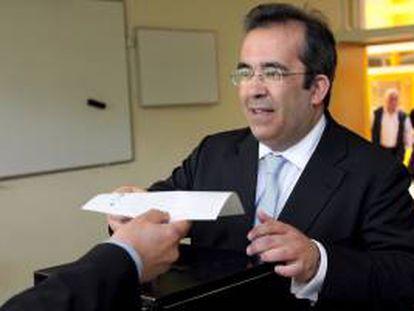 El cabeza de lista por el Partido Social Demácrata Portugués, Paulo Rangel. EFE/Archivo