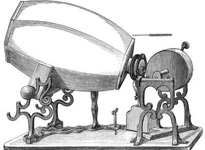 El invento del tipógrafo francés permitía plasmar sonido en una hoja de papel.