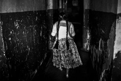 Cárcel de mujeres de Obrajes, un centro penitenciario ubicado en un barrio residencial de la zona sur de La Paz, Bolivia, a unos 3.500 metros de altura sobre el nivel del mar.