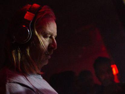 DJ Hell, durante una de sus actuaciones.
