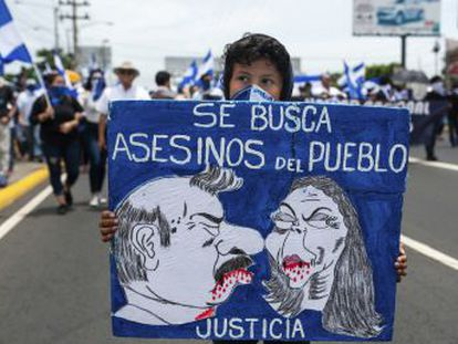 Ortega intenta mantener el control de un país sumido en la peor crisis política de los últimos cuarenta años