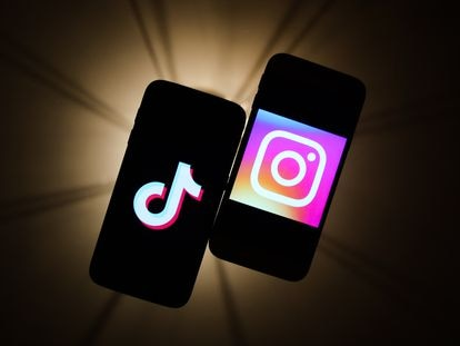 Reels de Instagram todavía no ha podido hacerse con el mercado del gigante TikTok de ByteDance. (Jakub Porzycki/NurPhoto via Getty Images)
