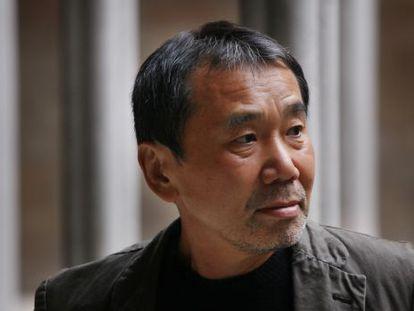 Haruki Murakami, fotografiado en 2011 en el Palau de la Generalitat de Cataluña.