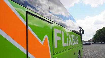 Un autobus de la compañía Flixbus.