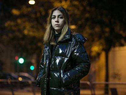 Nadia Sheikh, el sábado pasado en Barcelona, antes de su concierto en la sala Razzmatazz.