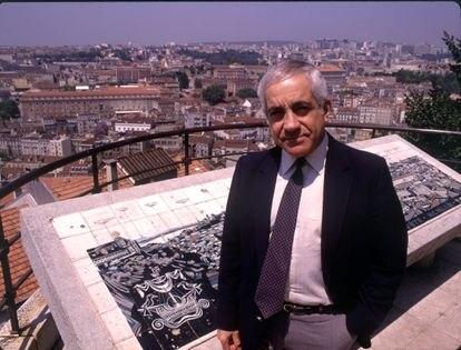 Otelo Saraiva de Carvalho, el más controvertido de los militares del 25 de Abril, en junio de 1989.