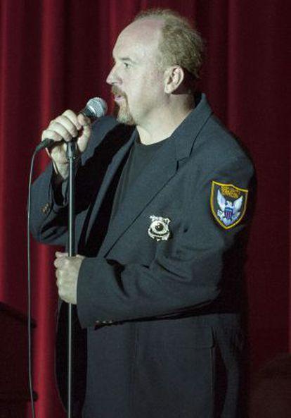 El cómico Louis CK.